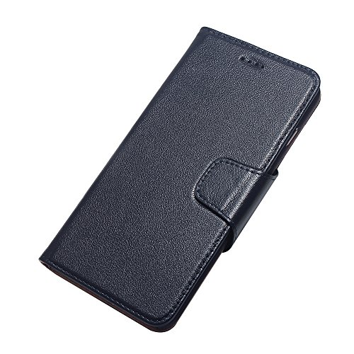 iPhone SE Hülle Cover mit Kartenfächern,EVERGREENBUYING - Flip Case Etui Handyhülle zum Aufklappen iPhone 5 / 5g Cases [Premium Leather Wallet][Slim Fit][Card Slot][Magnetic Flip] For Apple iPhone SE  Saphir