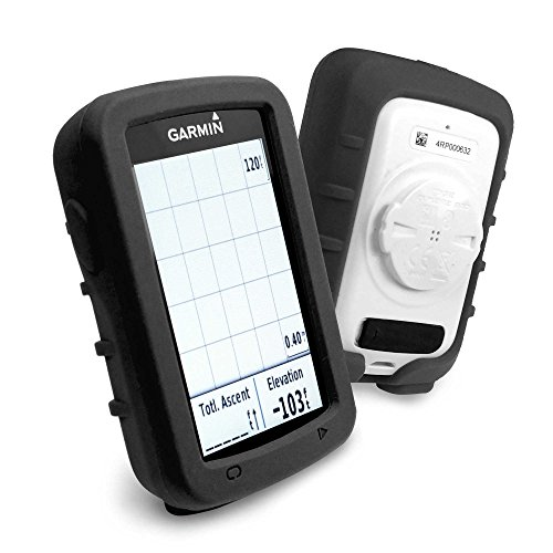 tuff-luv-silicone-gel-skin-case-and-screen-cover-for-garmin-edge-820-black