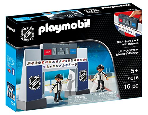 Playmobil 9016 NHLTM Score Clock with 2 Referees