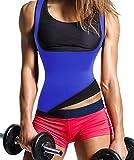 Damen Trainingsweste Sport Korsett Training Taillen Corset Neopren Shapewear