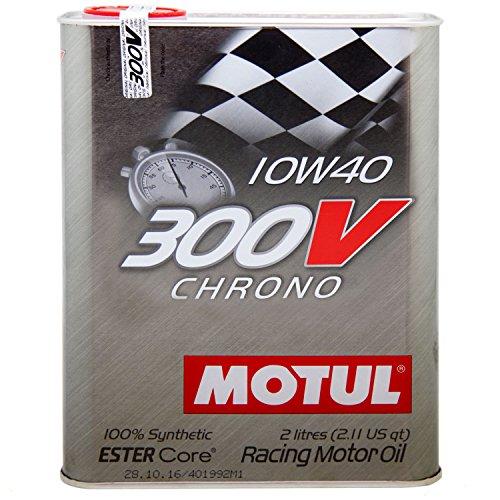 Motul 104243 Motoröl 300 V Chrono 10W-40, 2 L