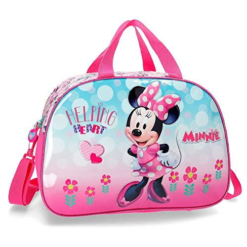 Disney Minnie Heart Borsone 40 centimeters 24.64 Rosa