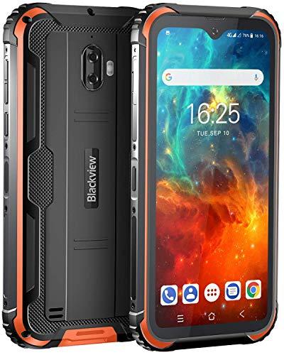 Téléphone Portable Incassable,Blackview BV5900 Smartphone Débloqué Antichoc Étanche Pas Cher,4G...