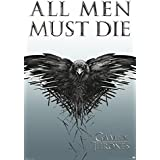Game of Thrones: All Men Must Die Artistica di Stampa (60,96 x 91,44 cm)