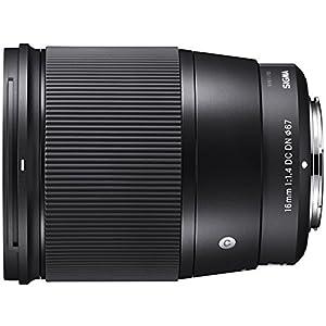 Sigma-16mm-Objektiv-schwarz