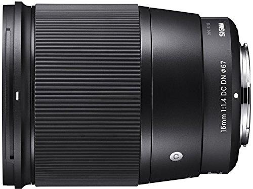 Sigma Obiettivo 16mm-F/1.4 (C) AF DC DN, attacco E-Mount (SE System) Mirrorless