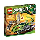 Lego-Ninjago-9447-Lashas-Schlangenbike