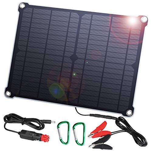 SUAOKI 16W 18V Cargador Panel Solar Batería Coche