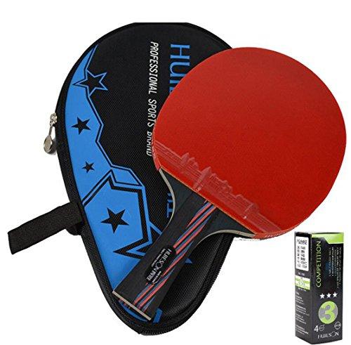 Unten der Carbon Wang Tisch Tennis Schläger Tischtennis Paddel