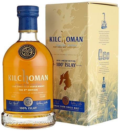 Kilchoman ISLAY The 8th Edition Limited Edition 2018 Whisky (1 x 0.7 l)