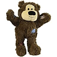 KONG Wild Knots Bear Dog Toy, Medium/Large Colors Vary