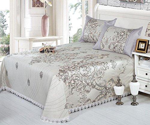 Preisvergleich Produktbild Eisseide Sitz 6D Waschbar Maschinenwaschbar Leinen Bettdecken Umweltfreundliche Klimaanlage Mat Mat,L