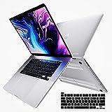 i-Blason Cover MacBook PRO 16' 2019, Custodia Rigida e Sottile [Serie Halo] Clear Case per Nuovo MacBook PRO 16' con Touch Bar e Touch ID (Trasparente/Frost)