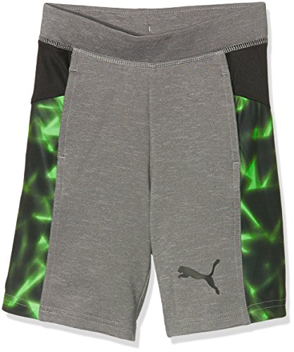 Puma Kinder Active Cell Basketball Shorts, Medium Gray Heather, 164