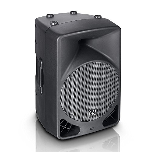 LD Systems OXID 12 A - Altavoces (Negro, Corriente alterna, 220-240 V,...