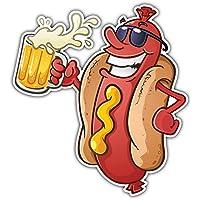 Patch Ecusson-gesticktem Wandleuchte Backpack Daunenjacke Couture kawaii Hot Dog Hotdog