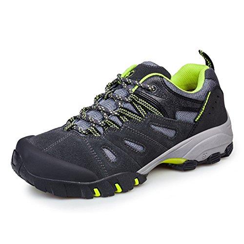 Scarpe Per Adulti Escursionismo Unisex Scarpe Da Corsa Anti-Slip Sneakers Verde 42 Casual