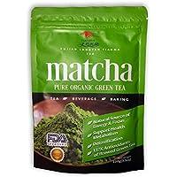 Té Verde Matcha 100% Orgánico 100 gramos[Calidad Premium] 100 g En Polvo Antioxidante + Energético + Potente + Saludable +Para Beber Y De Uso Culinario