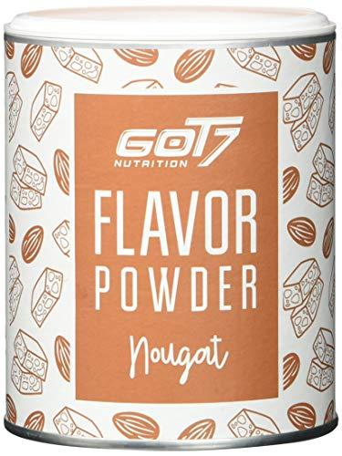 Got7 Flavorpulver Flavorsystem Flavor Powder Aroma für Quark Eiweißshake Joghurt 150g (Nougat)