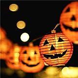 Halloween Lights,Makion Halloween Decorations Fairy Lights 1.5M 10 Led Pumpkin Lanterns Battery Powered String Lights