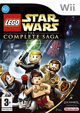 Lego Star Wars: The Complete Saga (Wii): Amazon.co.uk: PC & Video ...
