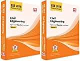 ESE 2018 Preliminary Exam Civil Engineering Topicwise Objective Solved Paper Vol- 1 & 2 (2 Book Set)