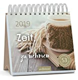 Zeit, Dir Zeit zu nehmen - Kalender 2019 - arsEdition-Verlag - Wochenkalender - Postkartenkalender mit Zitaten - 17 cm x 17 cm