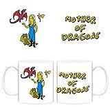 Taza Juego de Tronos Khaleesi Madre de Dragones Simpson