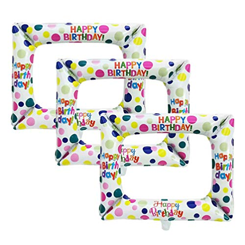 Amosfun 3 Piezas Marco Inflable Photo Booth Props