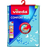 Vileda Comfort Plus - Funda para tabla de planchar, talla universal, 130 x 40 cm