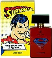 Estiara Superman Perfume For Kids Eau De Parfum 100ml Aromatic Aquatic Fragrance - Warner Brothers