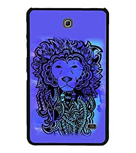 PrintVisa Designer Back Case Cover for Samsung Galaxy Tab 4 (7.0 Inches) T230 T231 T235 LTE (Lion Fine Art Creative Image of Lion)