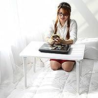 SBWYLT-Moda portatile scrivania letto tavolo pieghevole multiuso dormitorio semplice scrivania 70 * 50 * 45 b