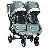Baby Jogger City Mini GT Stroller - Double, Steel Grey