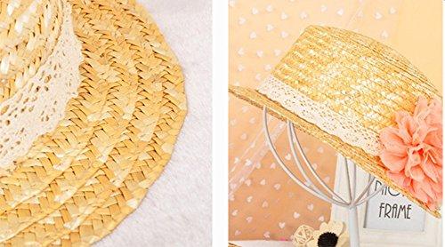 Leisial Femme Casquettes visière de Paille Anti-soleil Respirant Anti UV Chapeau de soleil pour Loisir Voyage Kaki