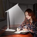 340 grad drehbare design tischlampe hohe qualität led faltbare schreibtisch leselampen empfindliche touch control lichter