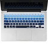 Kuzy Ombre Keyboard Cover Silicone Skin ...