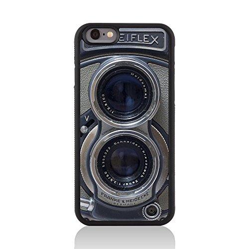 Call Candy 122-113-062 Printed Vintage Retro Old Skool Rollei Kamera Glossy zurück Fall Deckung für Apple iPhone 6 (Retro-kamera Iphone 4 Fall)