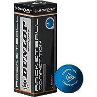 Dunlop Raquetbol 3 Bola Caja Competición Bolas Para Principiantes & Mejoradores De