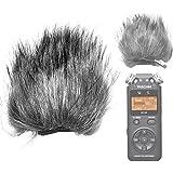 EnjoyTone en-13micrófono al aire libre Furry Parabrisas Muff para Tascam DR-05escopeta de grabación de voz grabadora interna de 5cm (longitud) * 7cm (ancho) * 10cm (longitud exterior) * 2cm (grosor)