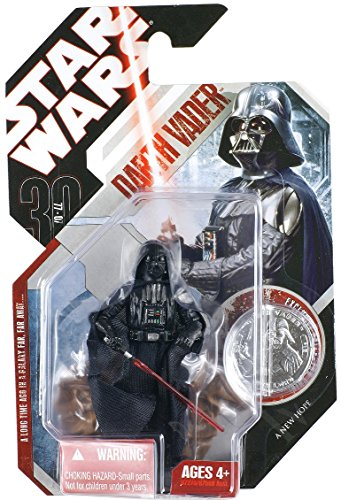 Hasbro Darth Vader with Removable Helmet tac16 - Star Wars 30th Anniversary Collection 2007