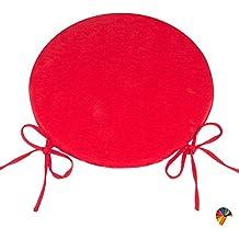 Cuscini Rotondi Sedie Cucina.Amazon It Cuscini Rotondi Sedie Cucina Rosso