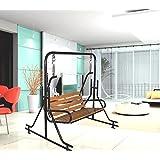 Kaushalendra Garden Zula Indoor Swing Teak Wood