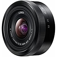 Panasonic LUMIX G Vario 3.5-5.6/12-32mm Asph. / MEGA O.I.S. Objectif 64 mm Noir