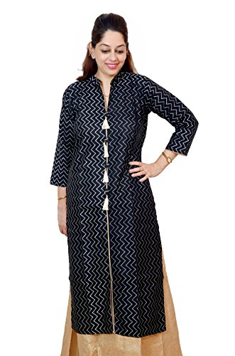 Kieana Women Cotton kurti With elegent work And Stand Color| Designer Trending Casual Party Wear Kurta | Attractive and Beautifull Bollywood Style Kurtis For Woman | Latest Collection Of Premium High Quality Ethnic Wears For Girls Ladies