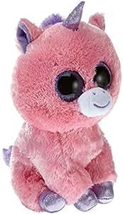 Ty - Ty36963 - Peluche - Beanie Boo's - Magic La Licorne Rose - 23 Cm