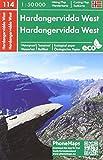 Hardangervidda West (PhoneMaps Wander - Radkarte Norwegen)