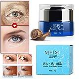 Augencremes, Hunpta Schnecke Anti-Aging Augencreme Kollagen Feuchtigkeitsspendende Reparatur Hyaluronsäure Creme (Grün)