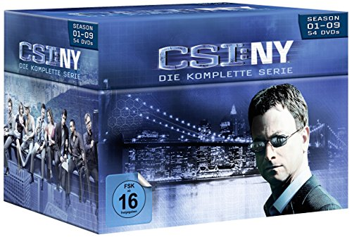 CSI: NY - Komplettbox (54 DVDs)