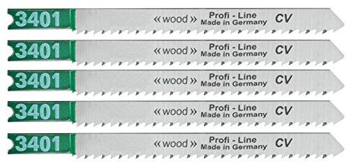 Connex Stichsägeblatt B&D Holz fein 100 mm, 5 Stück, COM310100